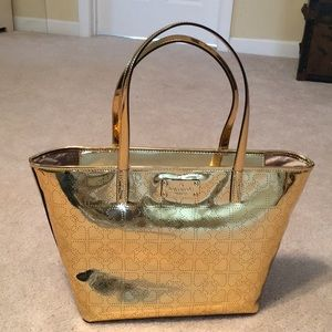 Kate Spade Gold Bag